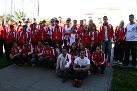 Delegação com 56 atletas representa Andirá no 26º Jogos da Juventude em Ribeirão do Pinhal.